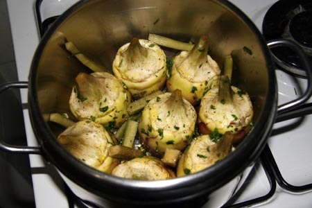Come cucinare i carciofi in pentola a pressione e ricette for Cucinare i carciofi